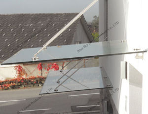 Glass Roof Stainless Steel Rain Canopy (B900) pictures & photos