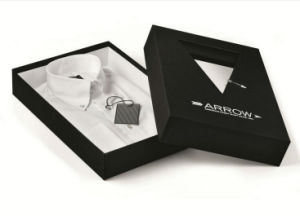 Black Paper Board Packaging Shirt Box pictures & photos