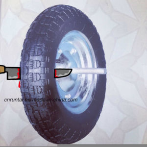 Hot Sale Durable 8′′x3.50-4 Rubber Wheel pictures & photos