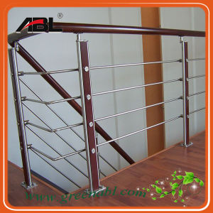 Stainles Steel Indoor Staircase Handrail (DD130) pictures & photos
