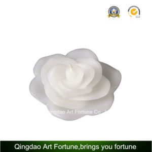 White Floating Flower Tealight Candle for Wedding Valentin′s Day pictures & photos