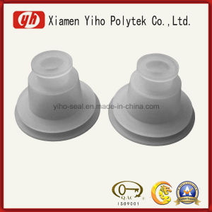 OEM Eco-Friendly High Temperature Resistant Molded Clear Rubber Silicone Stopper pictures & photos