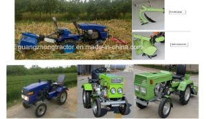Mini Farm Tractor Garden Small Tractor 12HP 18HP with Trailer Tiller pictures & photos