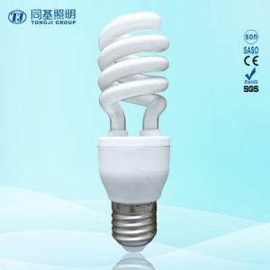 Energy Saving Lamp 24W Half Spiral Halogen/Mixed/Tri-Color 2700k-7500k E27/B22 220-240V pictures & photos