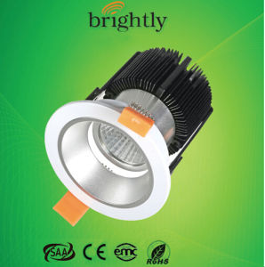 LED Downlight 20W 240V 1400lm COB with CE RoHS SAA EMC