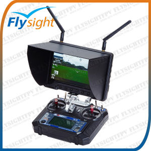 Fpv Aerial Photography Car LCD TFT 7 Inch Screen Monitor Black Pearl RC801 for RC Helicopter