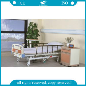 AG-Bmy001 ISO&CE Hydraulic 3 Function Medical Bed pictures & photos
