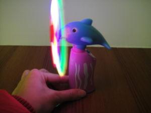 Dolphins Flash Windmill, LED Windmill, Windmill