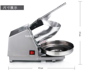 High Quality Family Electric Ice Cream Crusher Machine pictures & photos