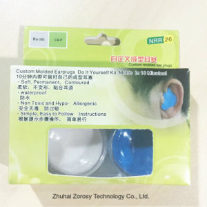 Popular Custom Molded Safety Ear Plugs NRR26 pictures & photos