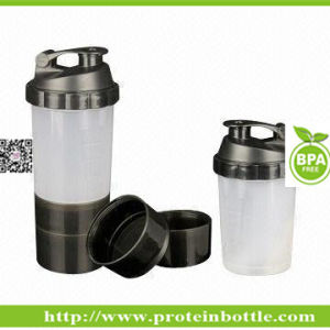 600ml Supplement Shaker with Ball pictures & photos
