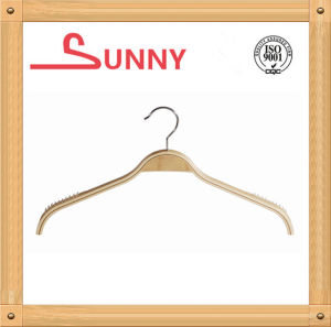 Laminated Hanger for Top Clothes with Nonslip