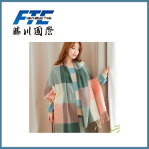 Warm Grid Scarf for Winter pictures & photos