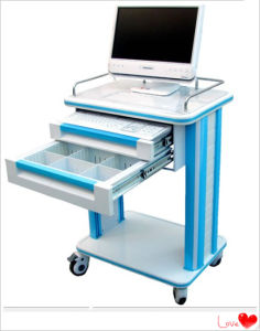 ABS Medical Computer Cart in Hospital pictures & photos