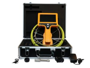 Drain Inspection Camera with 60m Cable, 7′′ Color LCD pictures & photos