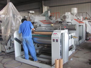 1000mm Double Extrusion Stretch Wrap Film Machine pictures & photos