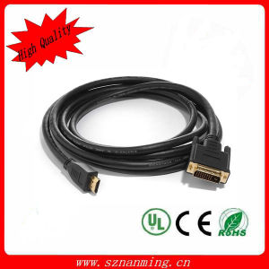 Gold Plated HDMI to DVI Cable (NM-HDMI-569) pictures & photos