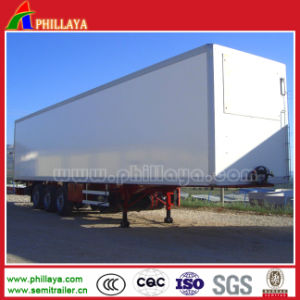 Enclosed Cargo Box Body Truck Semi Trailer / Van Trailer pictures & photos