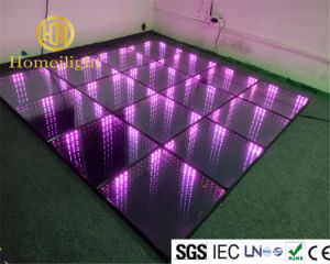 Magic 3D Mirror Thoughed Glass Abyss Dancing Floor LED Dance Floor for DJ Club Disco Stage Show pictures & photos