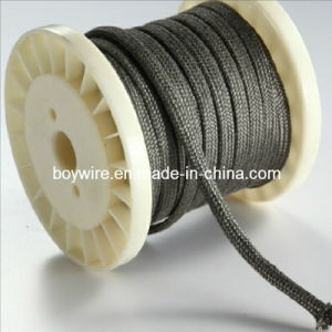High Temperature -Resistance Braided Sleeve Flexible Sleeve for Wire Protection (BYW-8003) pictures & photos