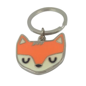 Souvenir Gifts Promotional Sale Fox Keyring Metal Cartoon Keyring pictures & photos
