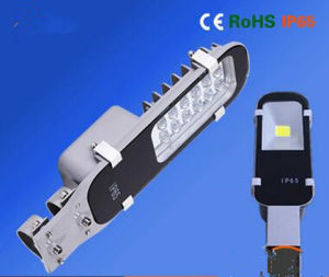 OEM Energy Saving 95lm/W IP65 Square Design Surface Electrical Spraying 50W LED Solar Road Light