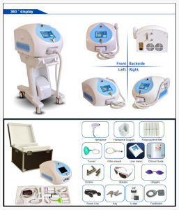 IPL Laser Diode 808nm System Hair Removal Medical Beauty Machine pictures & photos