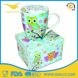 Factory Offer Porcelain Custom Coffee Tea Cup Mug for Gift pictures & photos