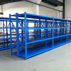 Safe and Strong Durable Design Warehouse Metal Medium Duty Racks & Shelves pictures & photos