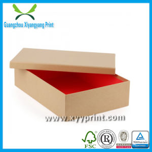 Custom High Quality Cardboard Paper Shoe Box Wholesale pictures & photos
