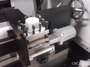 Ck50 Servo Motor High Precision Metal Horizontal CNC Lathe Machine pictures & photos