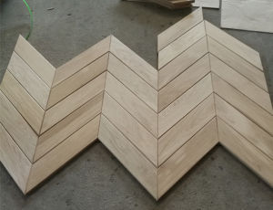 Euro Oak Chevron Floor / Parquet Flooring pictures & photos