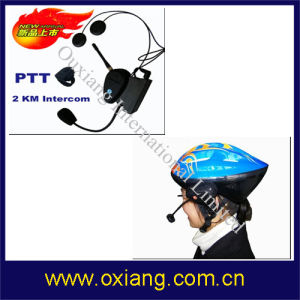 Bicycle Helmet Interphone Headset With Intercom 2km (OX-BH-9087) pictures & photos