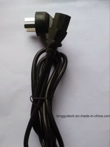 Three Pins Universal Power Cord pictures & photos