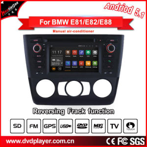 Hla8821 Android 5.1 Car DVD GPS for BMW 1 E81 E82 E88 Navigation Android Phone Connections pictures & photos