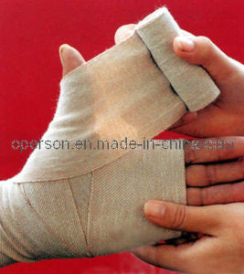 Medical Spandex Plain Elastic Bandage with CE and ISO Approved pictures & photos