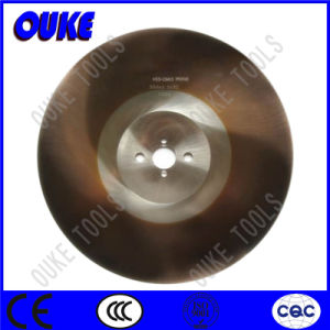 Tialn Coated HSS Circular Saw Blade for Cutting Fabric pictures & photos