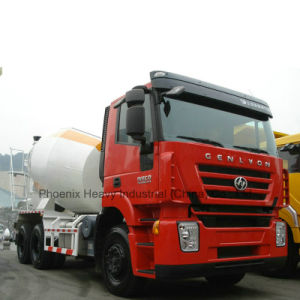 6X4 8m3 Hongyan Iveco Genlyon Cement Mixer Truck pictures & photos