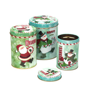 Christmas Festival Gift Metal Tin Packaging Box pictures & photos