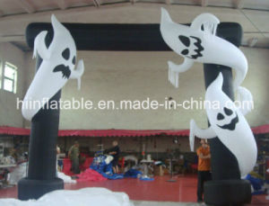 Vivid Lifelike Inflatable Halloween Ghost for Festival