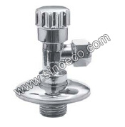 Brass Male Thread Angle Valve with Plastic Handle pictures & photos