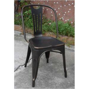 Brushed Aluminum Marais Tolix Leisure Chair