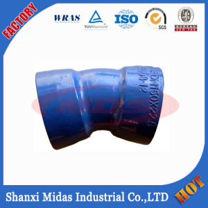 Ductile Iron Pipe Socket U Bend with Bitumen Coating pictures & photos