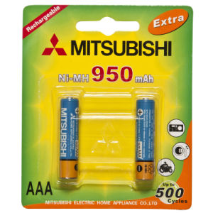 Mitsubishi Ni-MH AAA950 Rechargeable Battery