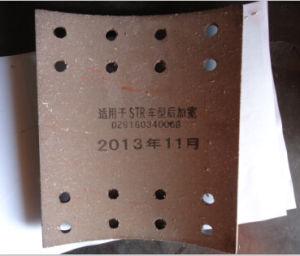 Str Rear Wider Brake Lining 16holes Dz9160340068 pictures & photos