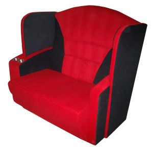 Commercial Chair Home Theater Seats Couple Cinema Sofa (Couple A) pictures & photos
