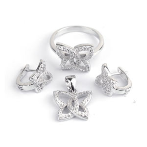 Custom Design Jewelry 925 Silver CZ Jewelry Wholesale pictures & photos