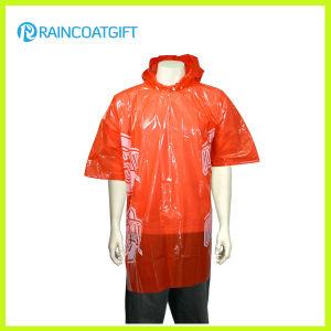 Cheap Disposbale PE Raincoat Rpe-148 pictures & photos