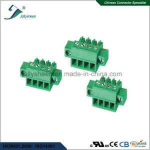 Pluggable Terminal Blocks pH3.50mm with Green Housing pictures & photos