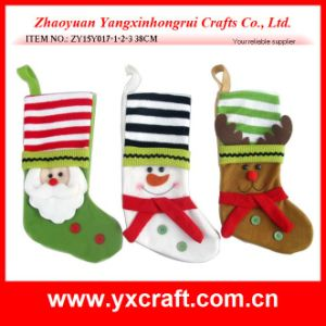 Christmas Decoration (ZY16Y005-1-2 50CM) Wholesale Santa Sacks Santa Christmas pictures & photos
